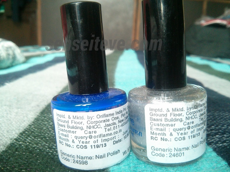 Oriflame Graffiti Nailpaint Base & Top Coat Product Codes & Price in India