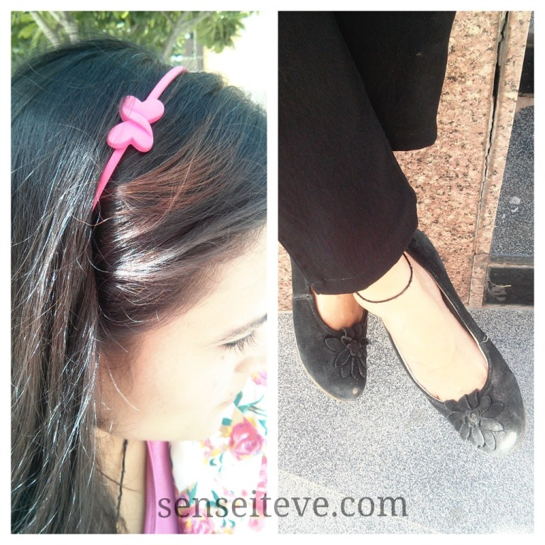 OOTD Casual summer day at office accessories