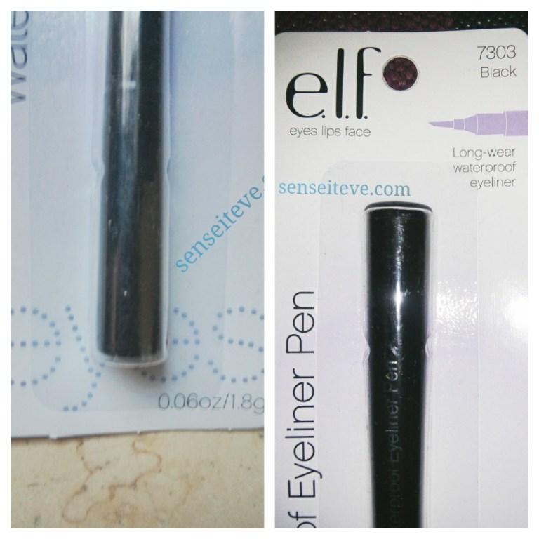 elf waterproof eyeliner pen shade
