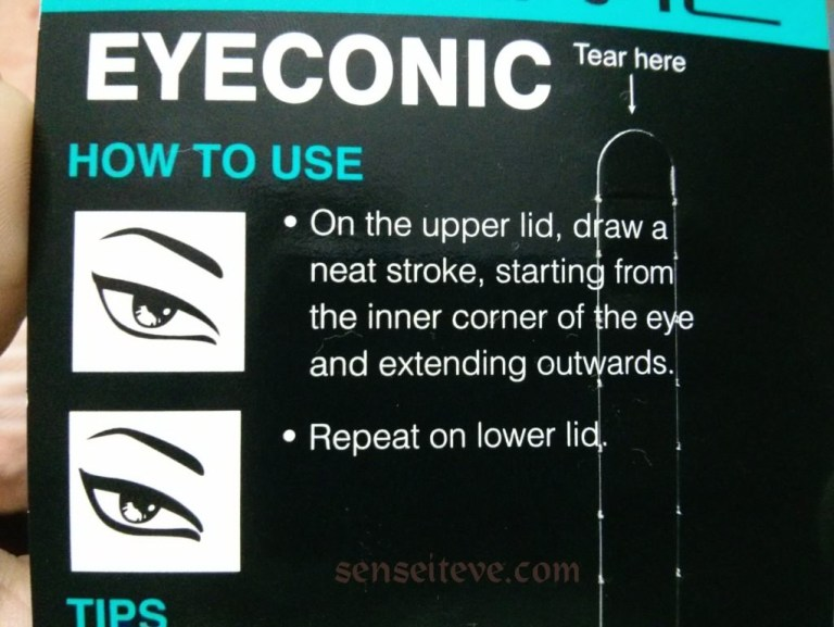 Lakme eyeconic Brown_How to use