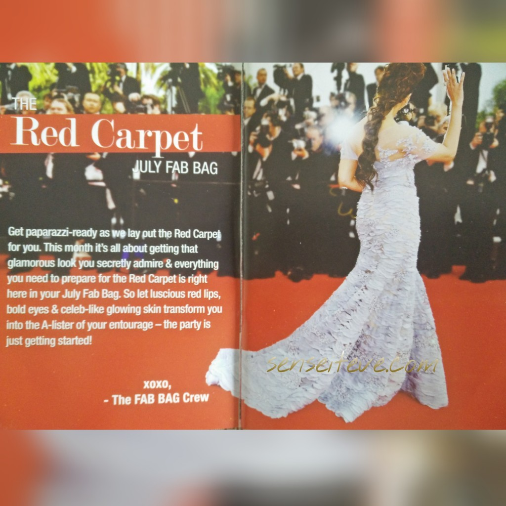 Fabbag July 2015- Theme Red Carpet