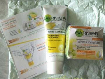 7DayGarnierChallenge-Garnier-White-Complete-facewash-cream