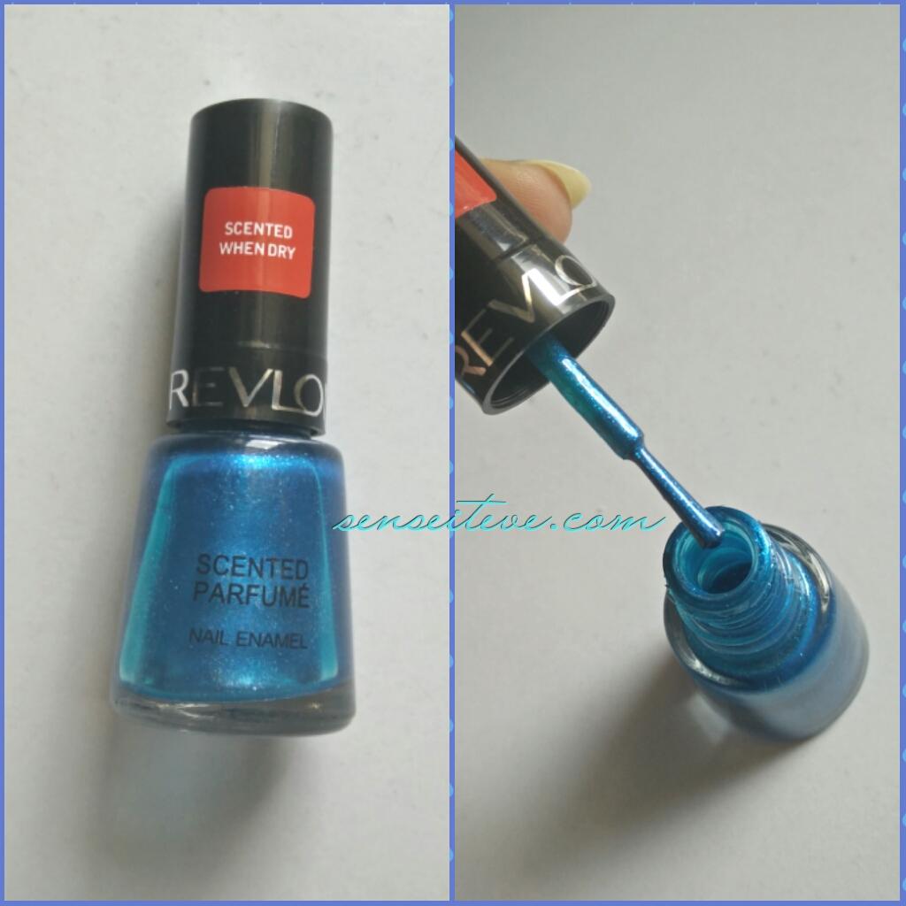 Revlon Scented Parfume Nail Enamel Mint Fizz Review