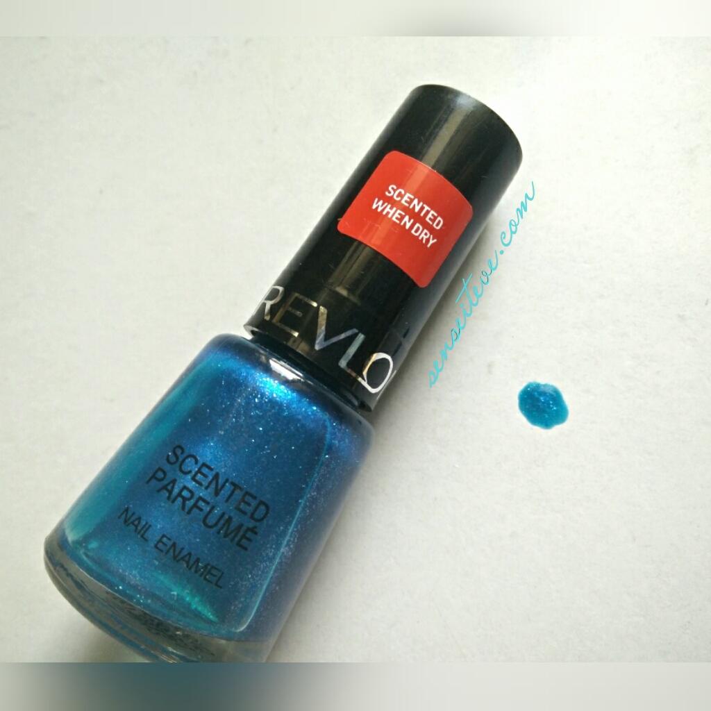 Revlon Scented Parfume Nail Enamel Mint Fizz