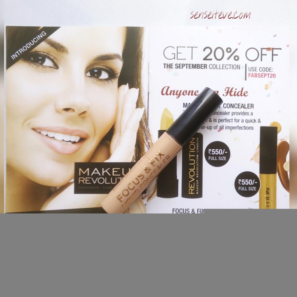in my Fabbag_makeup revolution focus & fix concealer