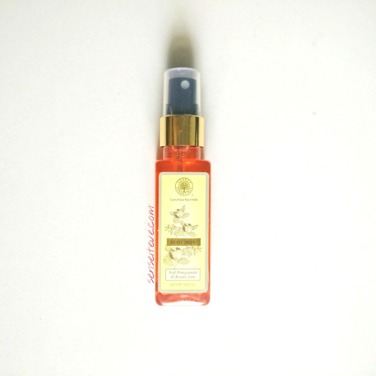 Forrest-Essentials-Body-Mist-Iced-Pomegranate-Kerala-Lime-Review