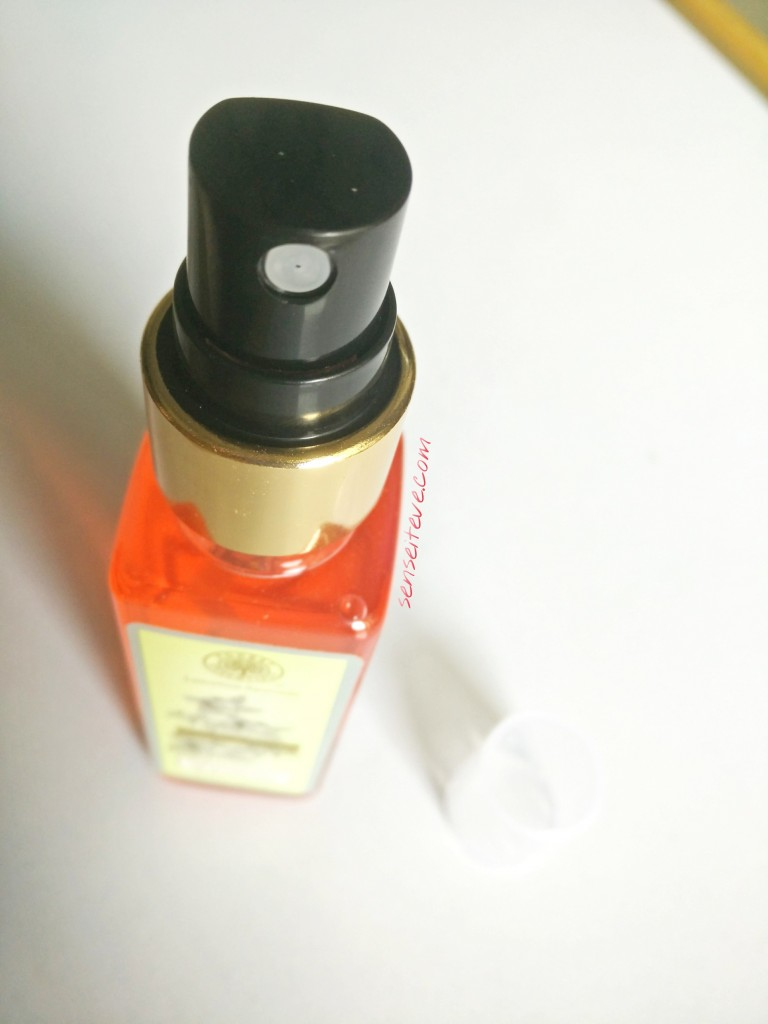 Forrest Essentials Body Mist Iced Pomegranate & Kerala Lime Spray Nozzle
