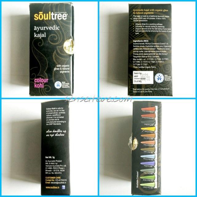 Soultree Ayurvedic Kajal