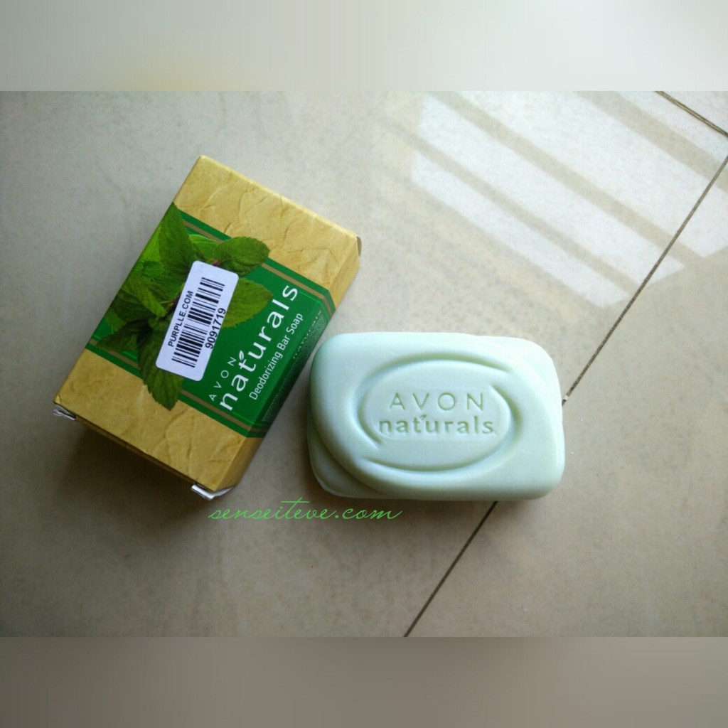 Avon Natural's Deodorizing Bar Soap Review