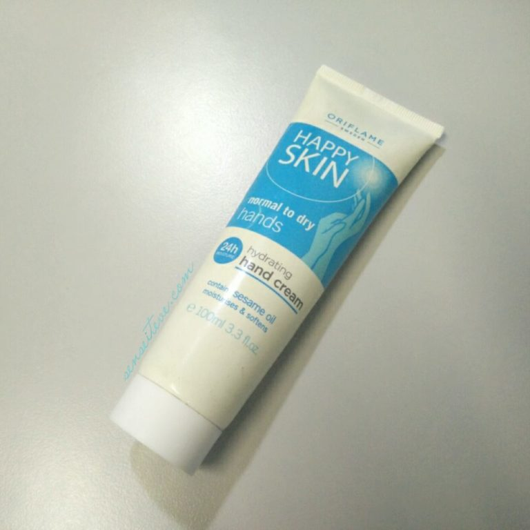 Oriflame-Happy-Skin-Hydrating-Hand-Cream-for-Normal-to-Dry-Hands-Review