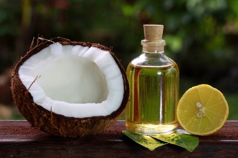 Grey Hair Remedies_coconut oil & lemon