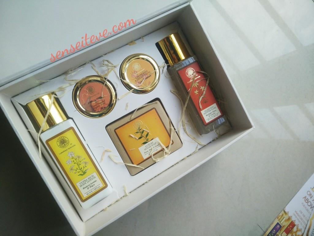 My Envy Box Feb 2016 Forest Essentials Edition