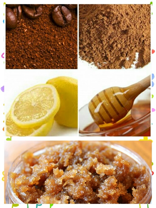 Reduce facial hair at home_Coffee Scrub