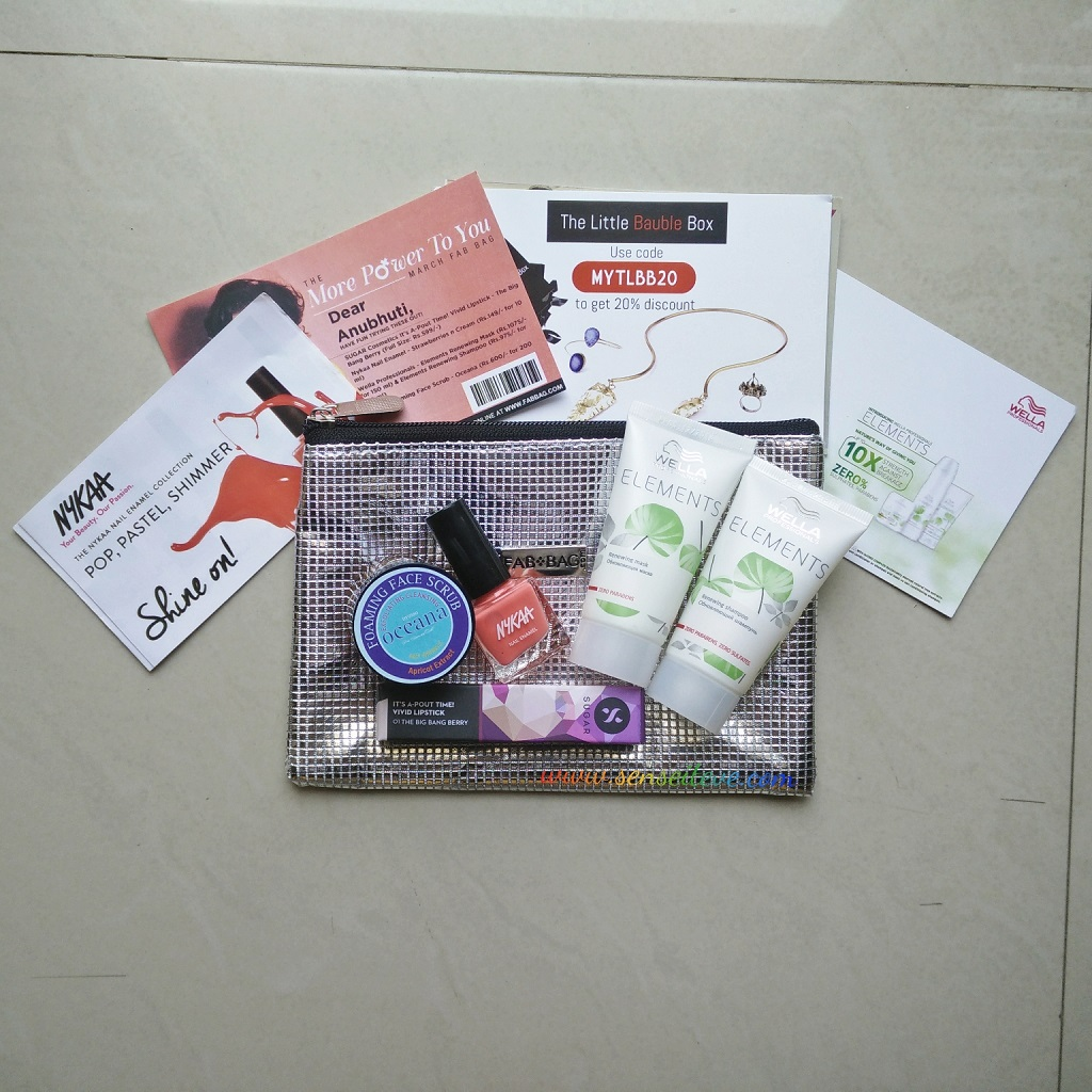 Fabbag March 2016 Review & Unboxing