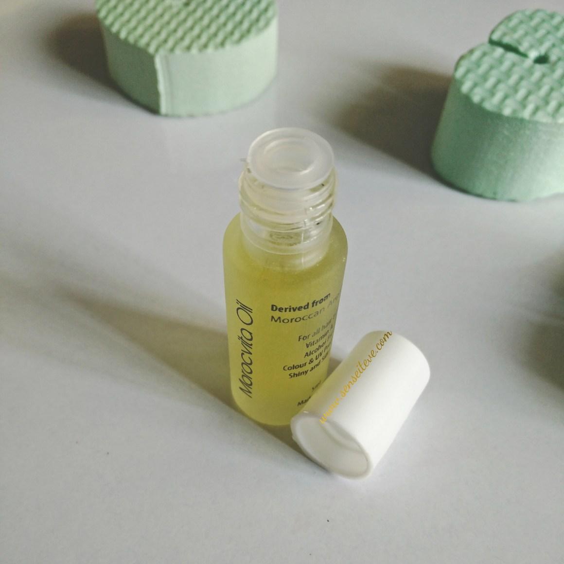 Roots Professional Morocvita Argan Oil Sample Packaging
