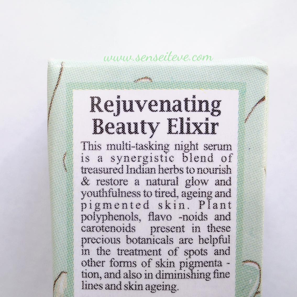 Just Herbs Rejuvenating Beauty Elixir