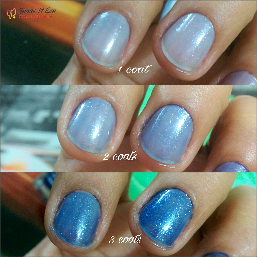 avon nailwear pro nail enamel celestrial blue review u0026 swatches