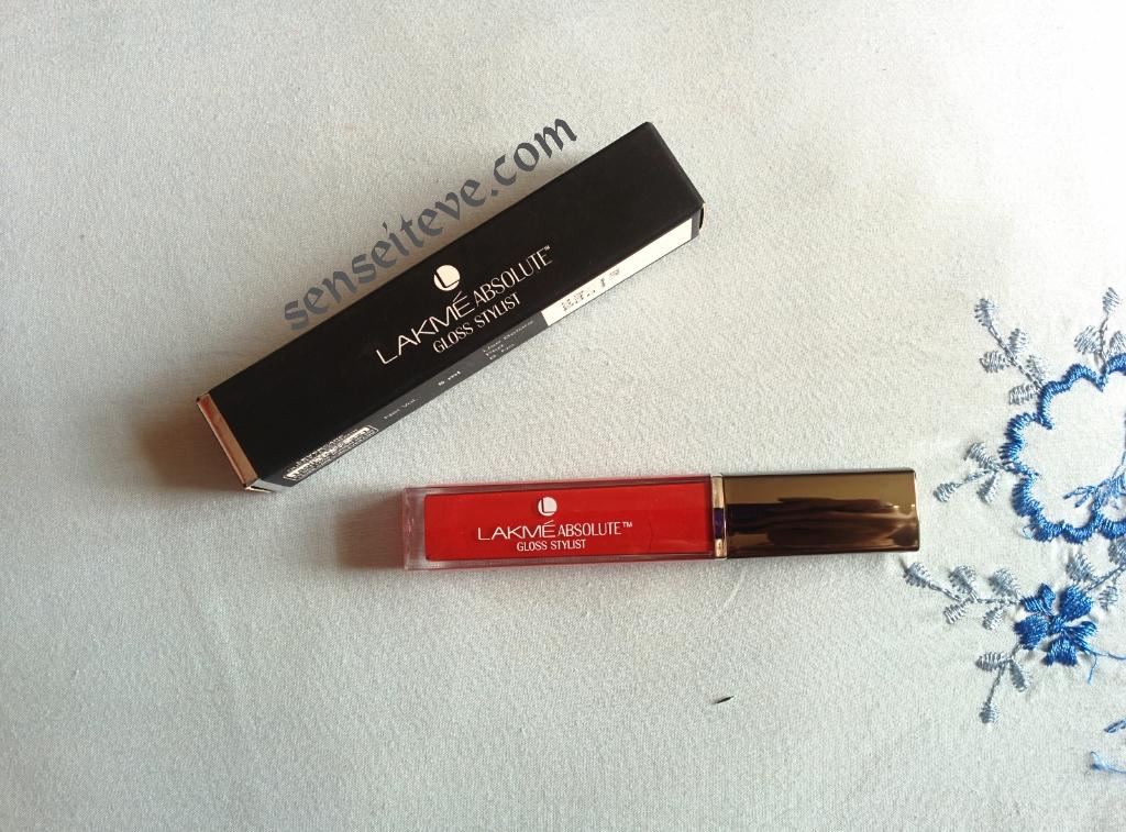 e6c8e8cbf Lakme Absolute Gloss Stylist Berry Cherry Review
