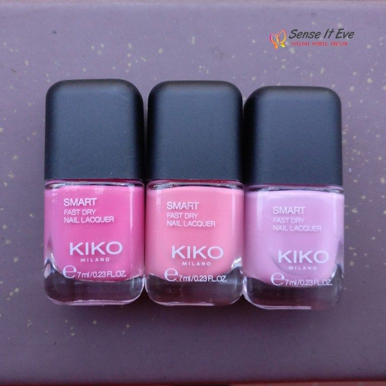 KIKO Milano Smart Fast Dry Nail Lacquer : Review & Swatches