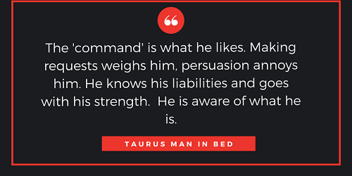 Taurus Man in BED and LOVE: How to be COMPATIBLE with Taurus ...