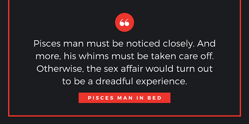 Pisces man sexuality