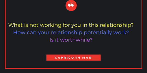 dating a capricorn man forum