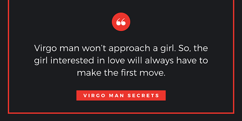 When a virgo man is not interested