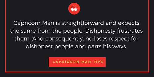 How to approach a capricorn man