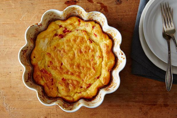 Pimento+Cheese Soufflé