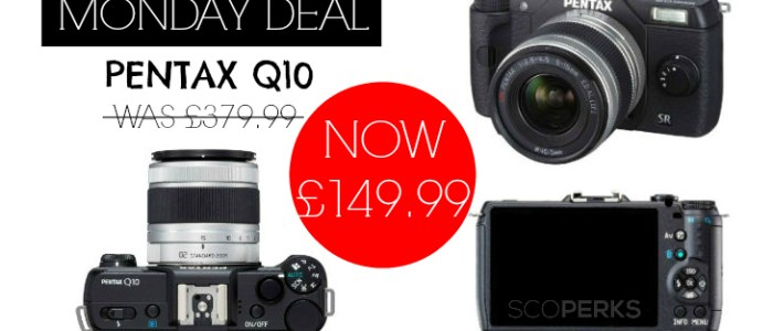 MONDAY DEAL: Pentax Q10 Camera