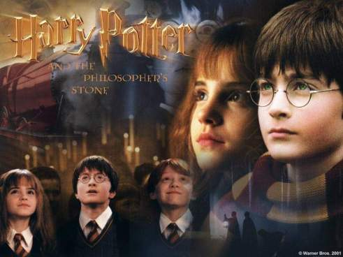 A Movie Poster For Harry Potter And The Philosophers Stone
