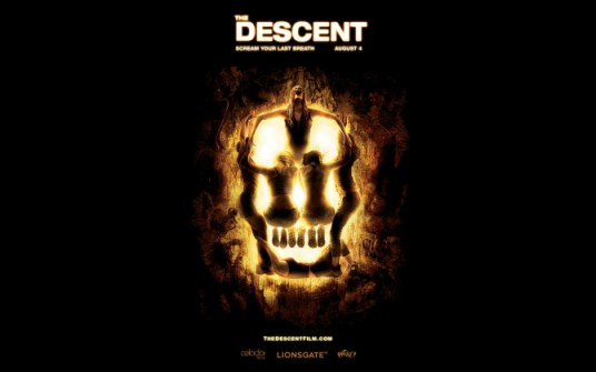 A Movie Poster For The Descent
