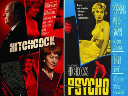 A Movie Poster For Psycho