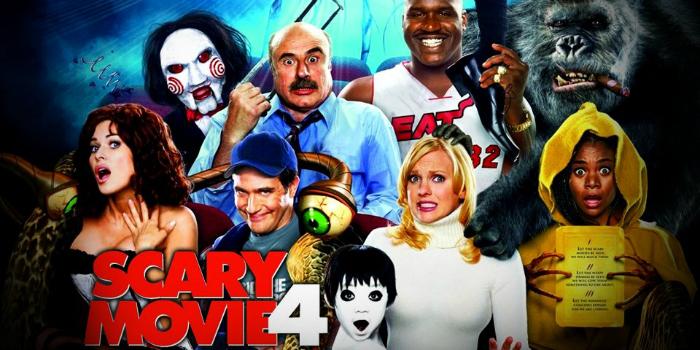 A Poster For Scary Movie 4