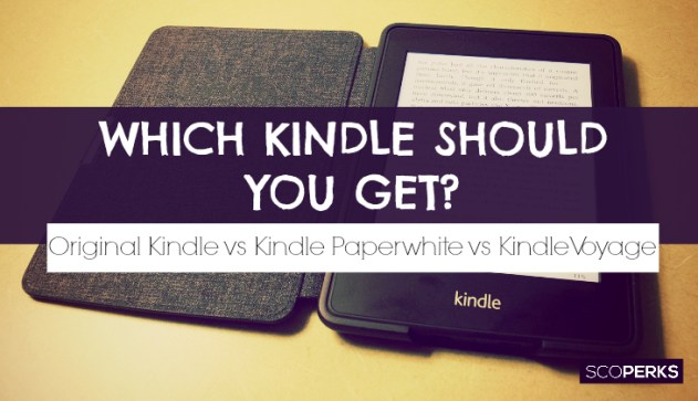 Kindle Vs Sony Reader: Which Kindle Should I Buy: Definitive Guide