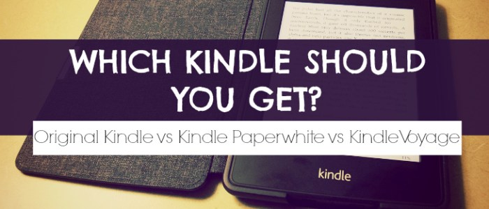 Which Kindle Should I Buy?
