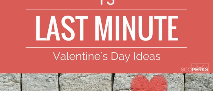 13 Last Minute Valentine's Gift Ideas