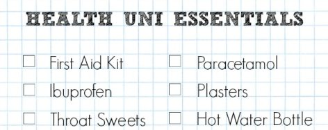 A Cropped Checklist Of Health Related University