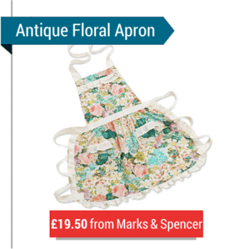 An Antique Floral Apron