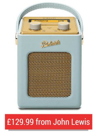 A Roberts Duck Egg Blue DAB Digital Radio From John Lewis