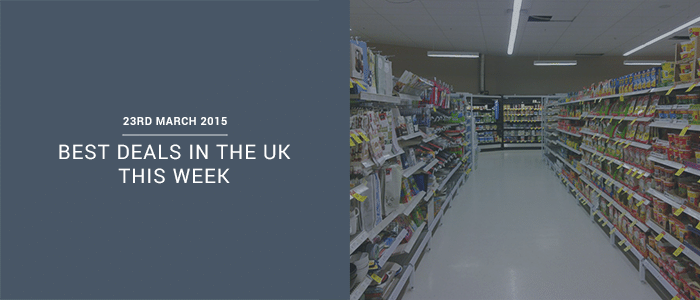 Best Deals In The UK This Week – 23rd March 2015
