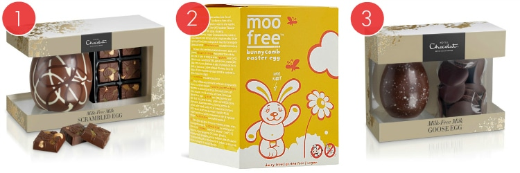 3 Dairy Free Easter Eggs