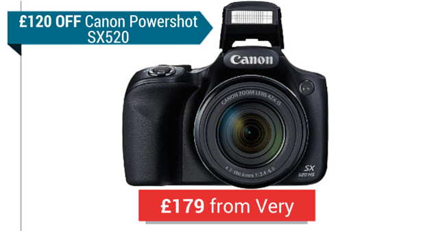 A Canon Powershot Camera From Very