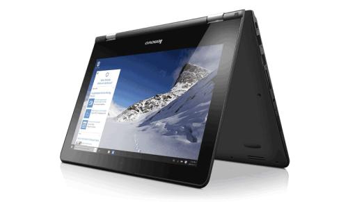 Lenovo YOGA 300 11.6 inch Convertible Notebook - best budget laptops