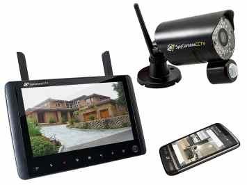 cctv spy camera handheld