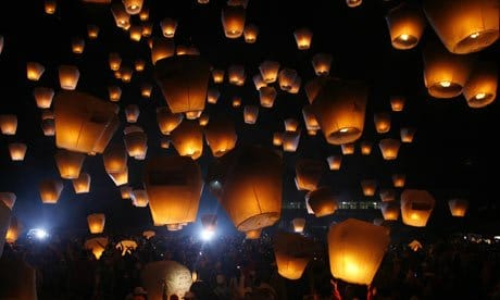 Eco-Friendly Sky Lanterns