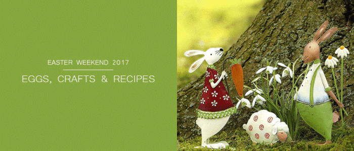 Easter Weekend 2017: Our Favourite Activities, Craft Ideas, Recipes & Easter Eggs