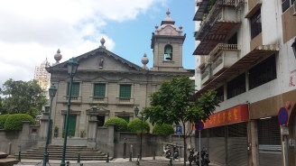 Church in old Macau