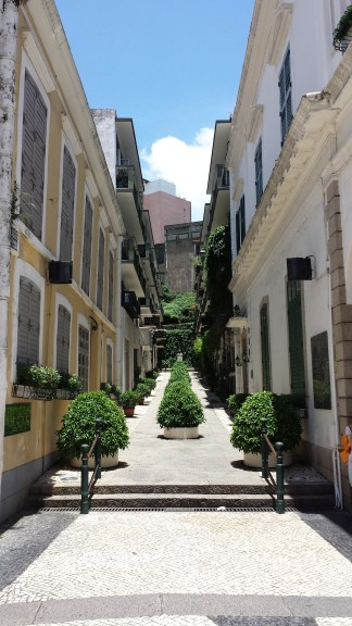 Street in old Macau