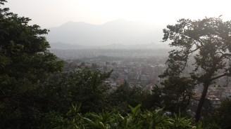 View of Kathmandu from Monkey Temple
